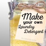 How to Make Easy, Homemade, Natural, Powdered Laundry Detergent