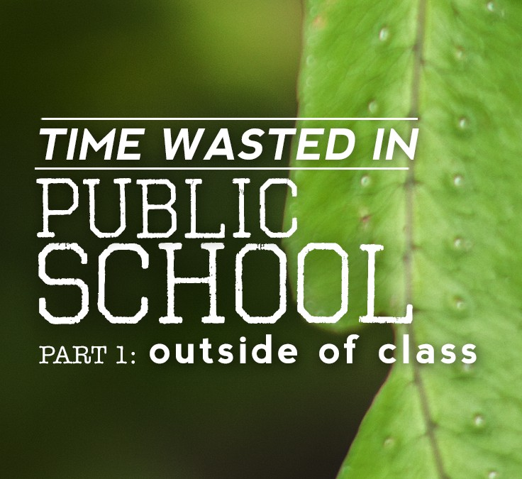 Time Wasted In School: Outside of Class