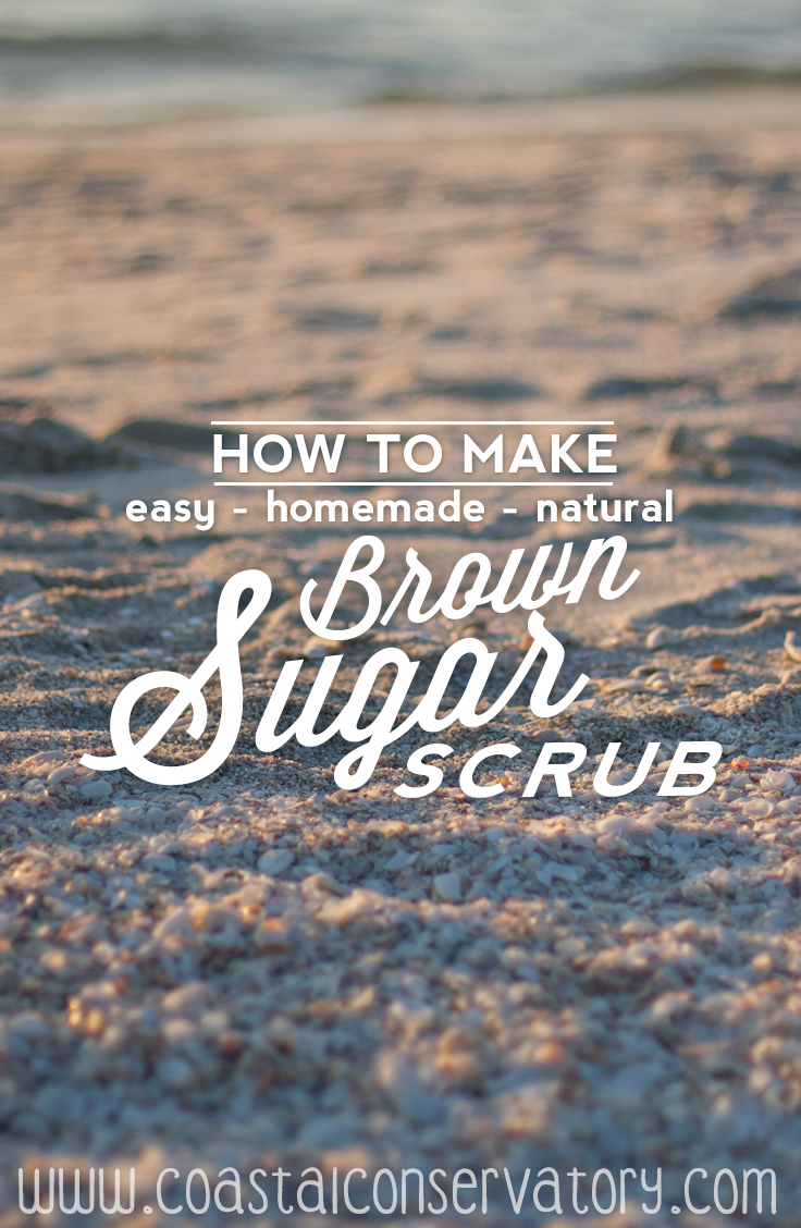 homemade brown sugar scrub