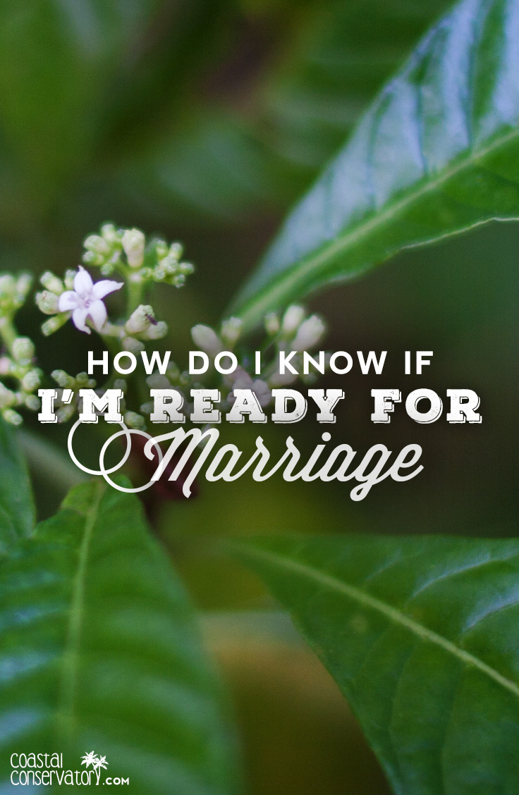 How do you know your ready to get married