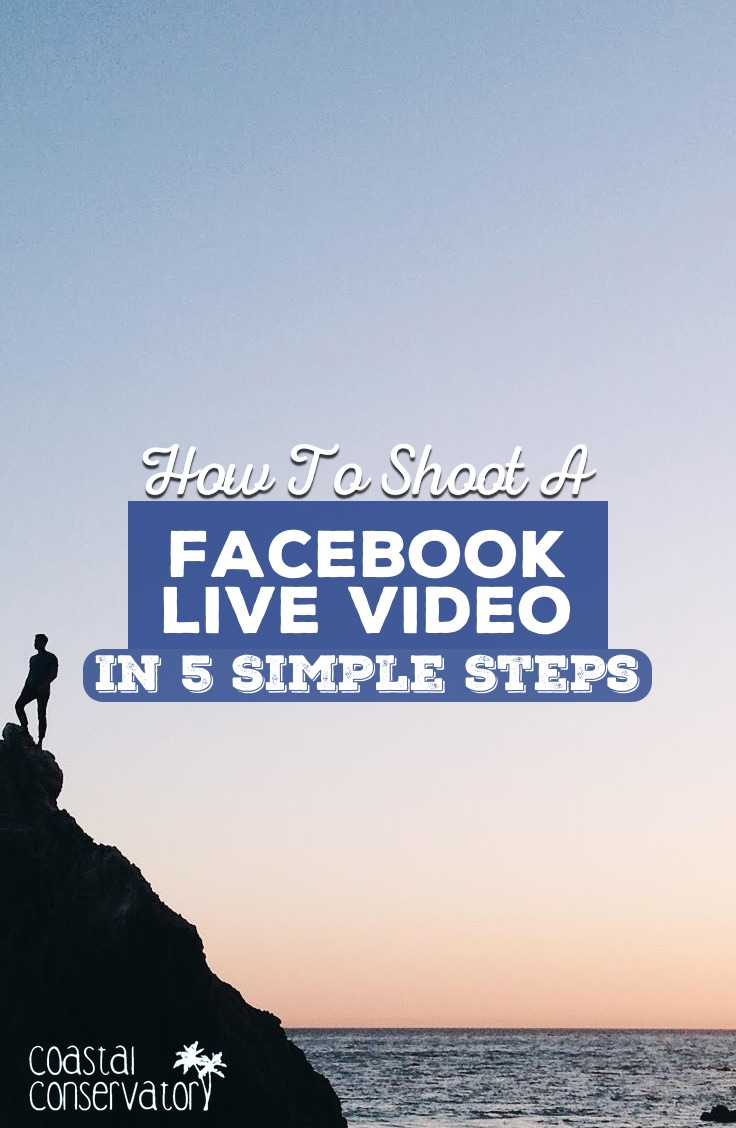 How To Shoot A Facebook Live video