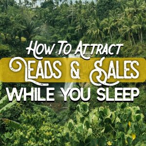 How To Attract Leads and Sales While You Sleep
